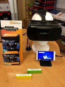 360 grad VR Vide Technik für Schüler der Fahrschule Düsseldorf