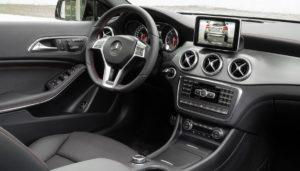 Innenraum Mercedes GLA AMG Line